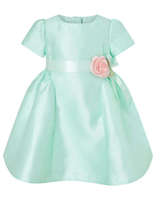 Baby Corsage Dress, Green (MINT), large