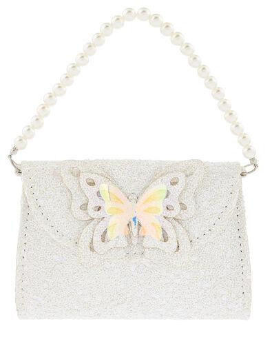 Leah Glitter Butterfly Mini Bag, , large