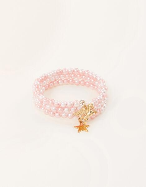 Unicorn Charm Spiral Bracelet, , large