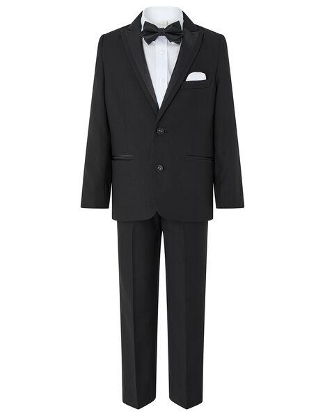 Benjamin 4PC Tuxedo Set Black, Black (BLACK), large