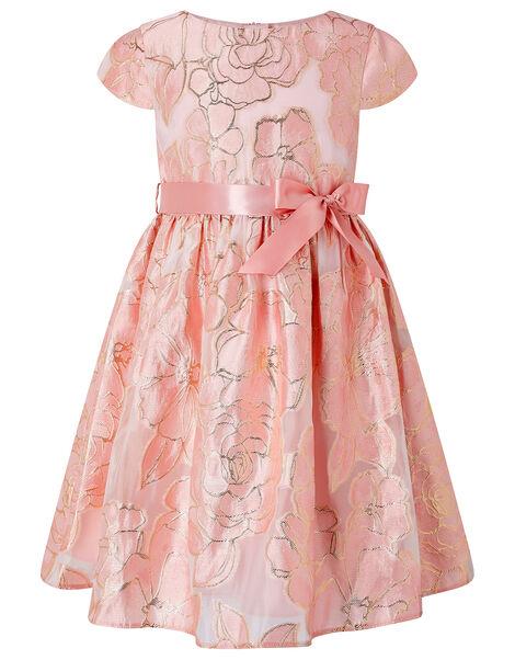 Chelsea Floral Jacquard Dress Pink, Pink (PINK), large