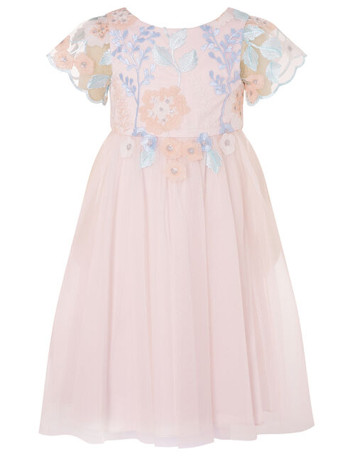 Floral Embroidered Dress, Multi (MULTI), large