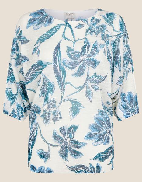 Balinese Floral Print Jumper Multi, Multi (MULTI), large