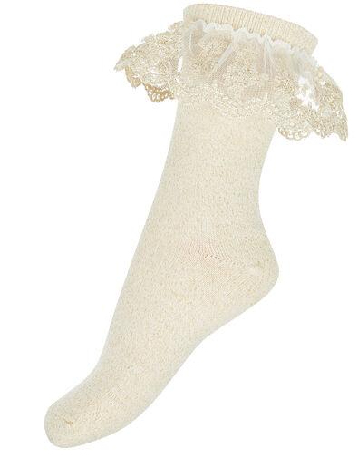 Ellen Gold Sparkle Socks Gold, Gold (GOLD), large