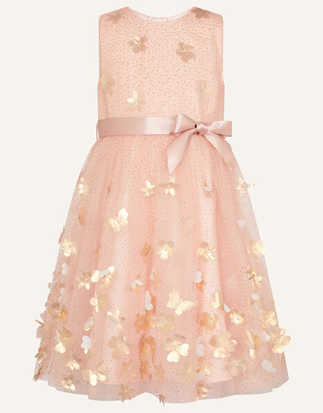 3D Petal Butterfly Dress Pink, Pink (PINK), large