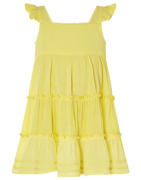 Baby Sunshine Tiered Dress Yellow, Yellow (YELLOW), large