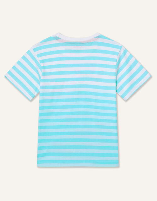 Boat Stripe T-Shirt, Blue (BLUE), large
