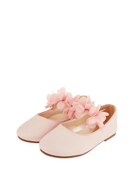 Baby Macaroon Corsage Walker Shoes Pink, Pink (PALE PINK), large