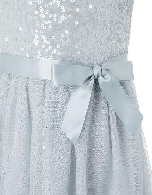 Truth Sequin Maxi Dress, Grey (GREY), large