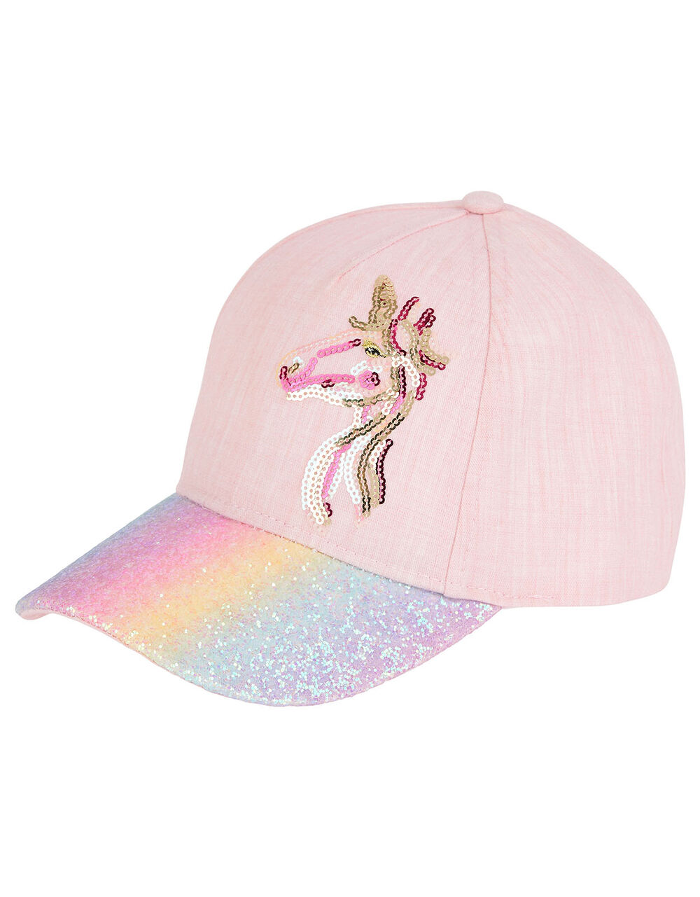 Narla Unicorn Rainbow Cap , Multi (MULTI), large