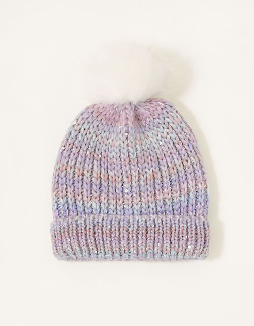 Nyla Space Dye Knitted Hat , Multi (MULTI), large