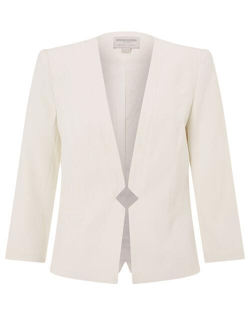 Nola Jacket, Ivory (IVORY), large