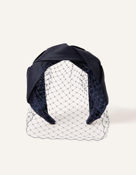 Veil Fascinator Headband, , large