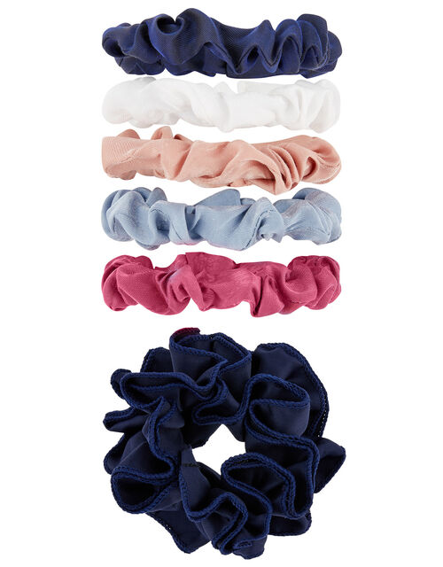 Ruffle Scrunchie and Mini Scrunchie Multipack, , large
