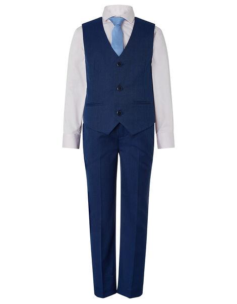 Jake Four-Piece Suit Set Blue, Blue (BLUE), large