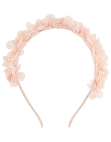 Pom-Pom Flower Headband, , large