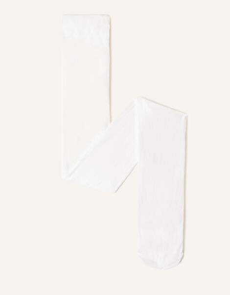 Baby Butterfly Lacey Tights White, White (WHITE), large