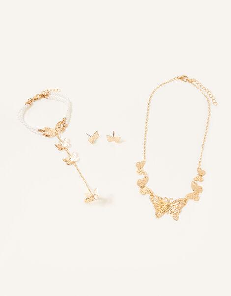 Flutter Butterfly Jewellery Set, , large