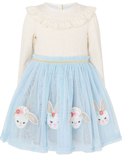 Baby Bunny Disco Dress Blue, Blue (BLUE), large