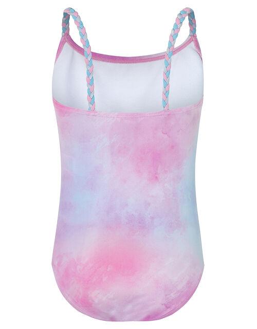 Ellie Unicorn Sequin Swimsuit, Pink (PALE PINK), large