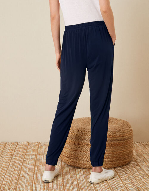 LOUNGE Nieve Jersey Joggers, Blue (NAVY), large