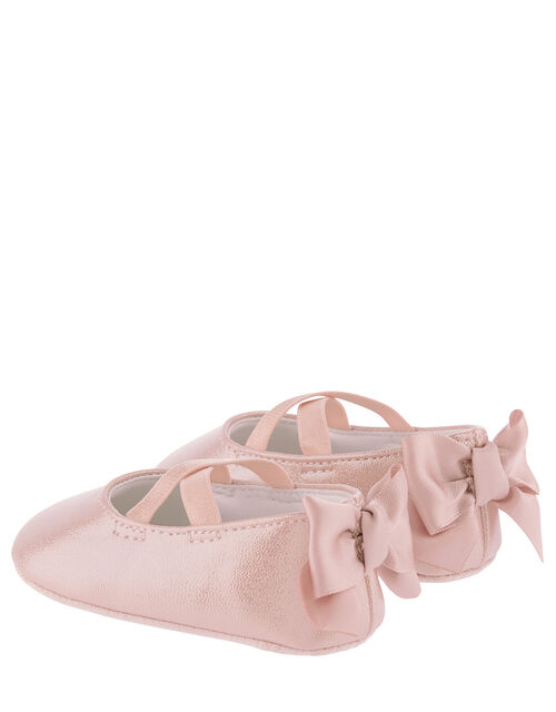 Baby Valeria Shimmer Bootie Shoes, Pink (PINK), large