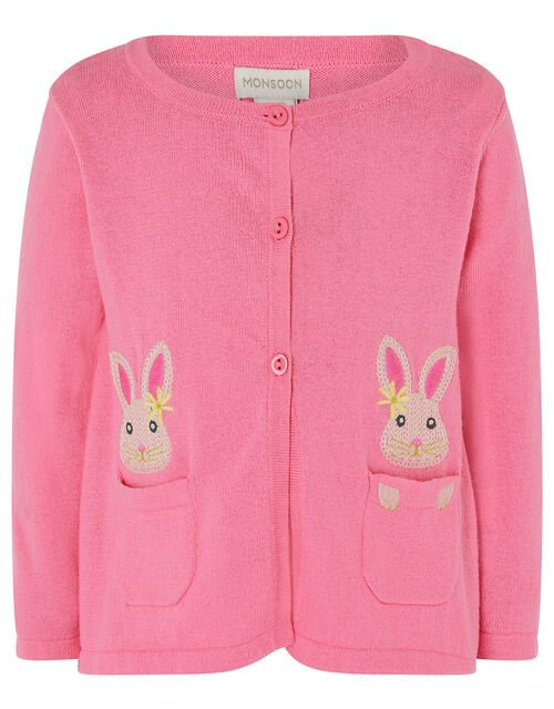 Baby Bunny Cardigan, Pink (PINK), large