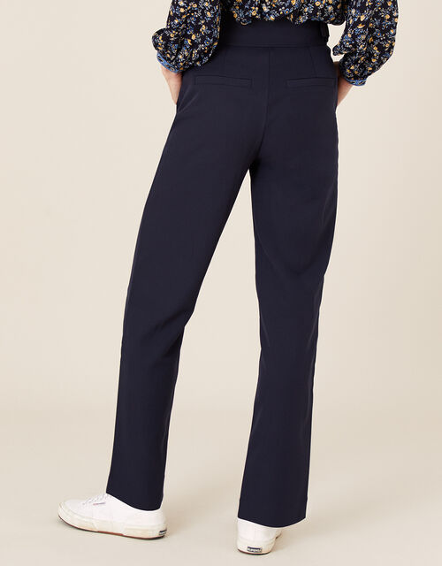 Smart Tapered Trousers, Blue (NAVY), large