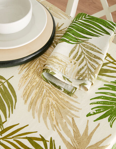 Palm Print Reusable Napkin Set, , large