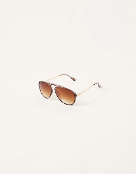 Tessa Tort Aviator Sunglasses, , large