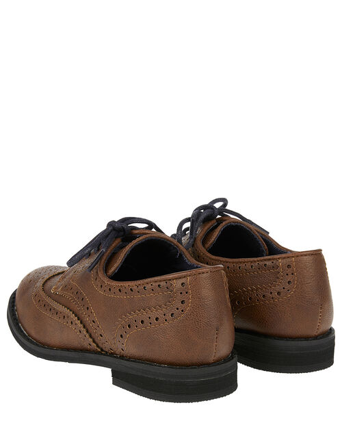 Brogue Shoes, Brown (BROWN), large