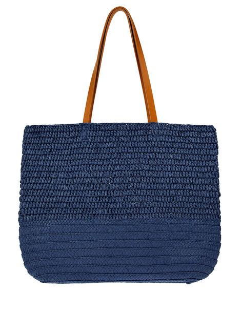 Kaz Straw Beach Bag, , large