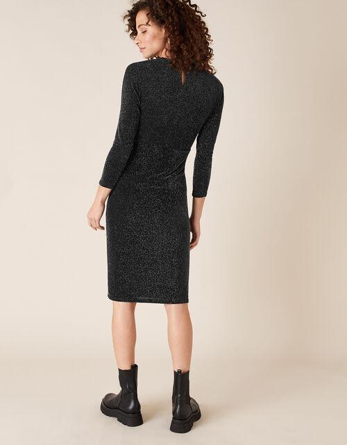 Gabriella Sparkle Dress, Black (BLACK), large