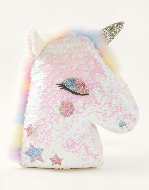Sequin Unicorn Backpack, , large
