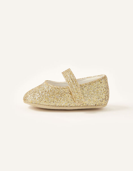 Glitter Bootie Shoes Gold, Gold (GOLD), large