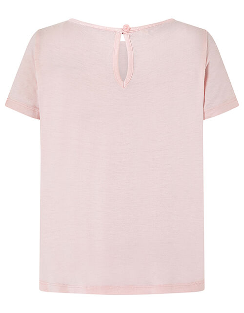 Sienna Horse T-Shirt with Sequins, Pink (PINK), large