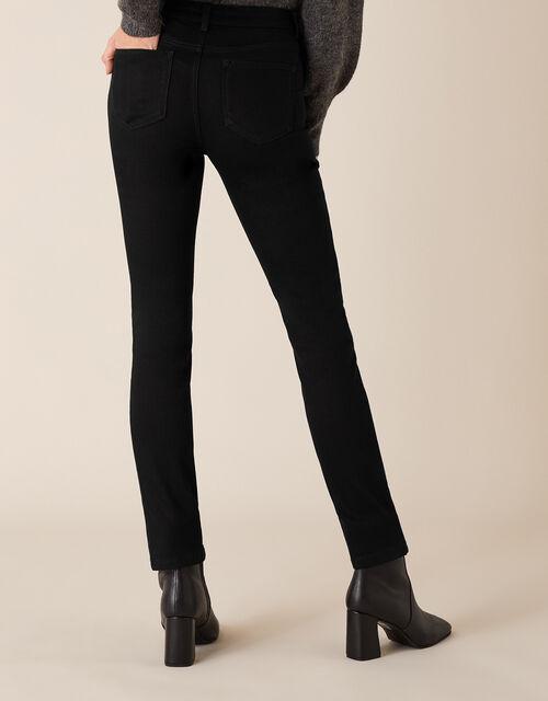 Azura Premium Short-Length Jeans, Black (BLACK), large