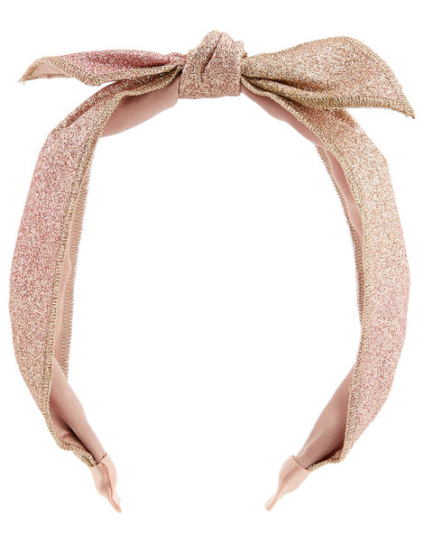 Ombre Glitter Knot Headband, , large