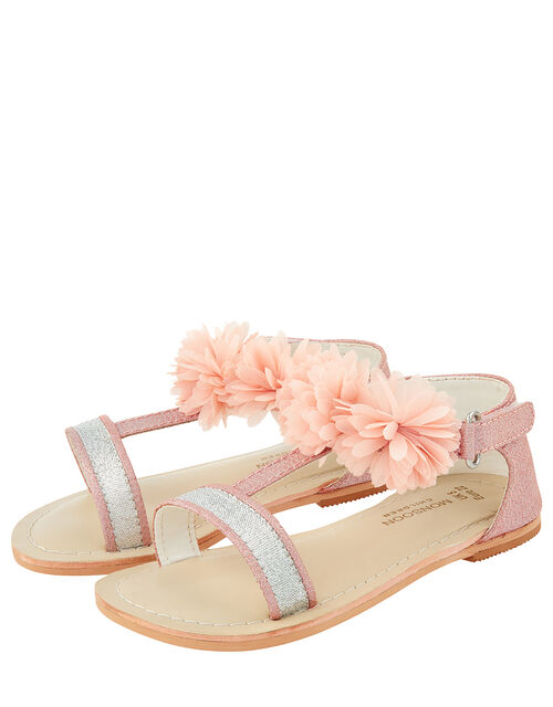 Baby Cleo Corsage Walker Sandals, Pink (PALE PINK), large