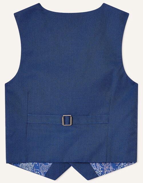 Jake Waistcoat, Shirt and Tie Set, Blue (BLUE), large
