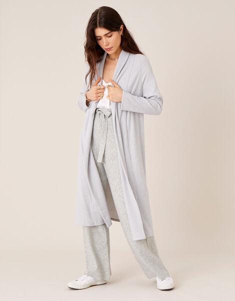 LOUNGE Ellie Midi Cardigan Grey, Grey (GREY), large