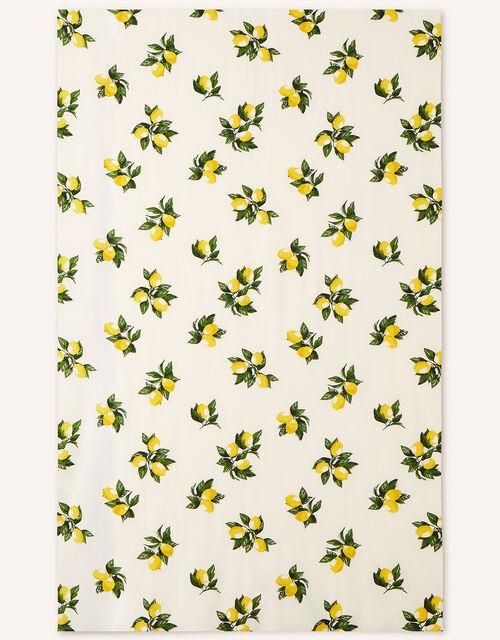 Lemon Print Tablecloth, , large