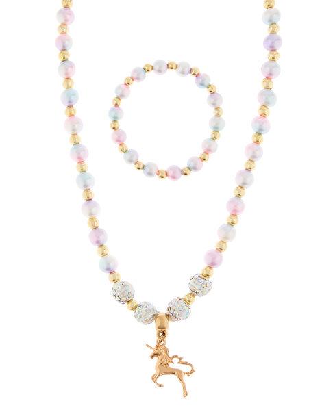 Rainbow Dreams Unicorn Jewellery Set, , large