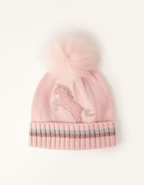 Suzie Dazzle Unicorn Hat  Pink, Pink (PINK), large