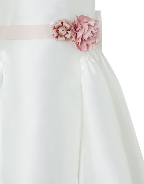 Cynthia High-Low Occasion Dress, Ivory (IVORY), large