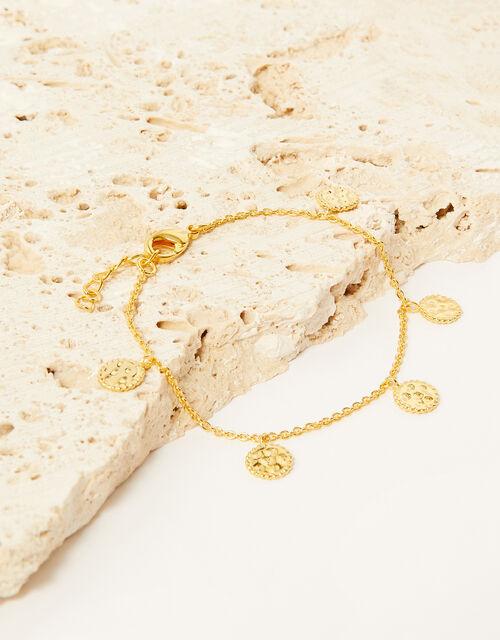 Gold-Plated Trim Detail Bracelet , , large
