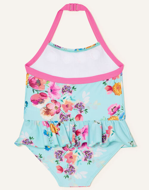 Baby Josie Frill Floral Swimsuit, Multi (MULTI), large