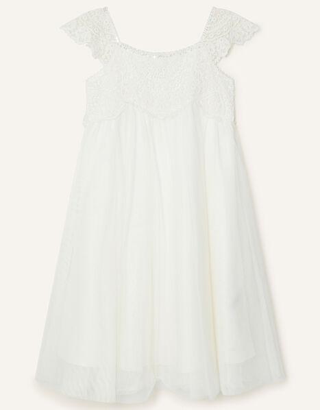 Estella Sequin Dress Ivory, Ivory (IVORY), large