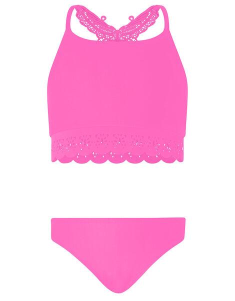 Butterfly Laser-Cut Bikini Set Pink, Pink (PINK), large