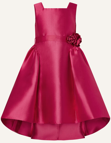 Cynthia Corsage Belt Dress Red, Red (RED), large